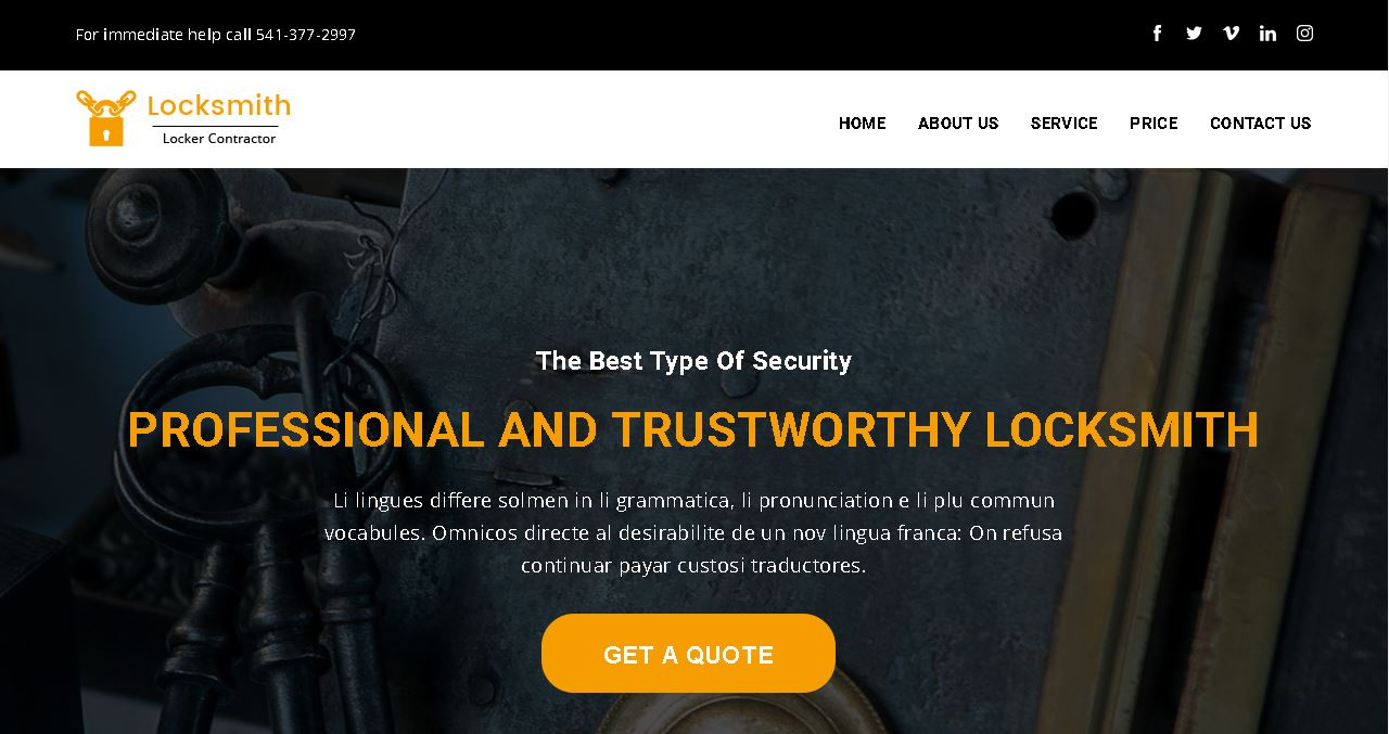 Locksmith Deluxe Website