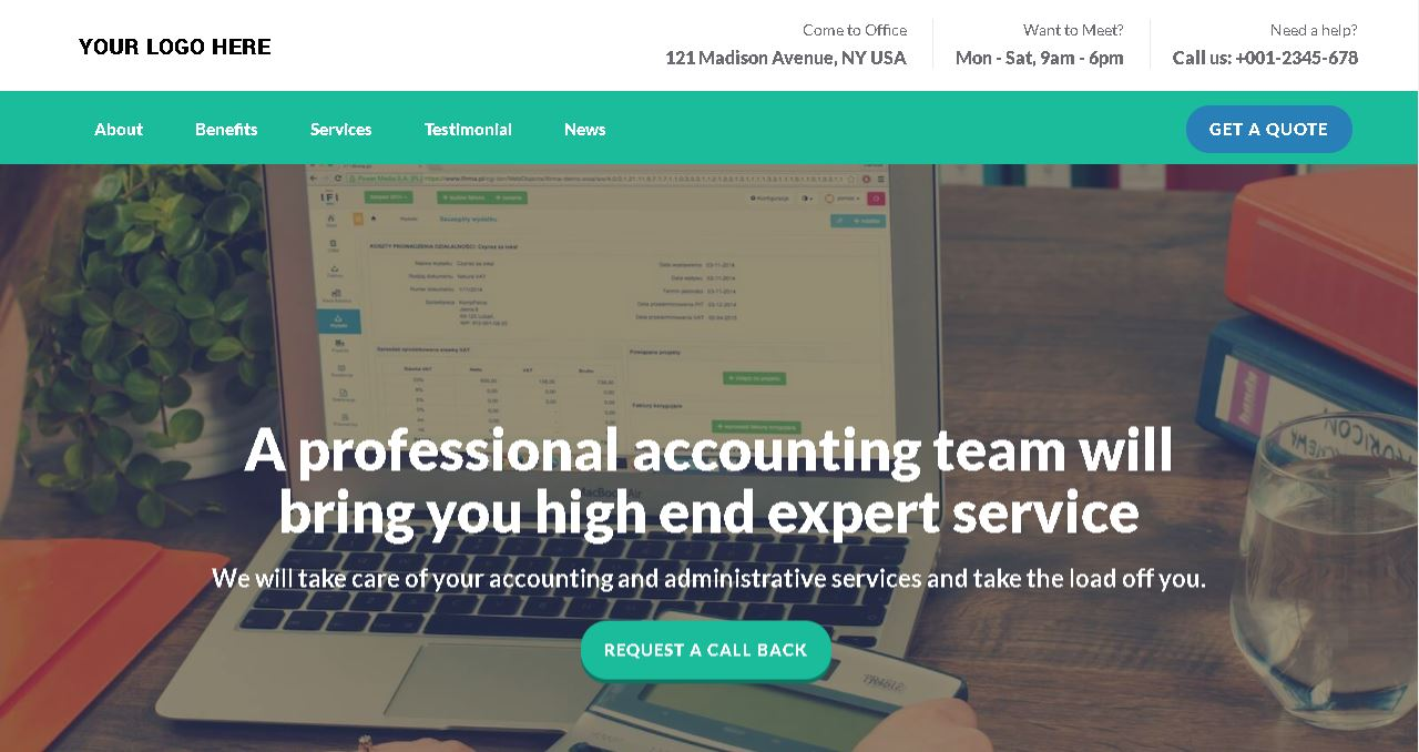 Deluxe Accounting Website