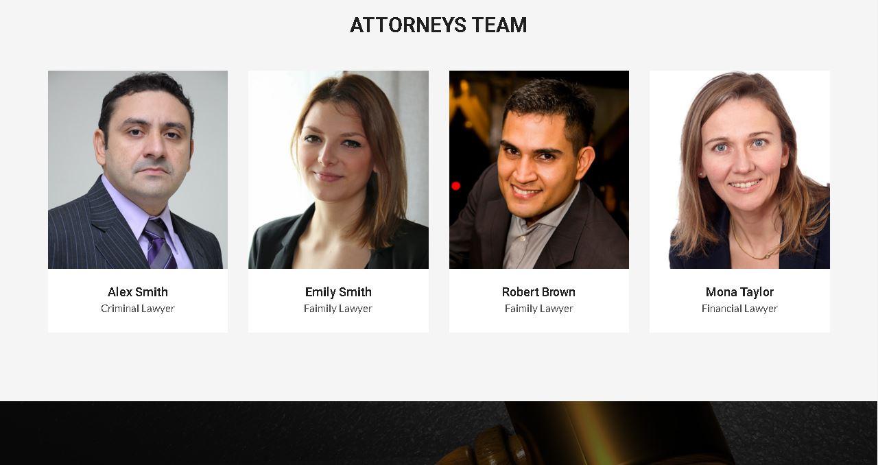 Deluxe Attorney Website