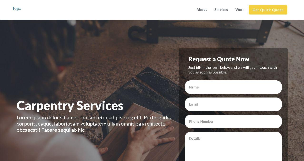 Carpenter Deluxe Website