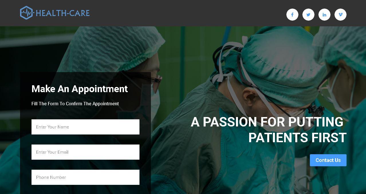 Deluxe Doctor Website