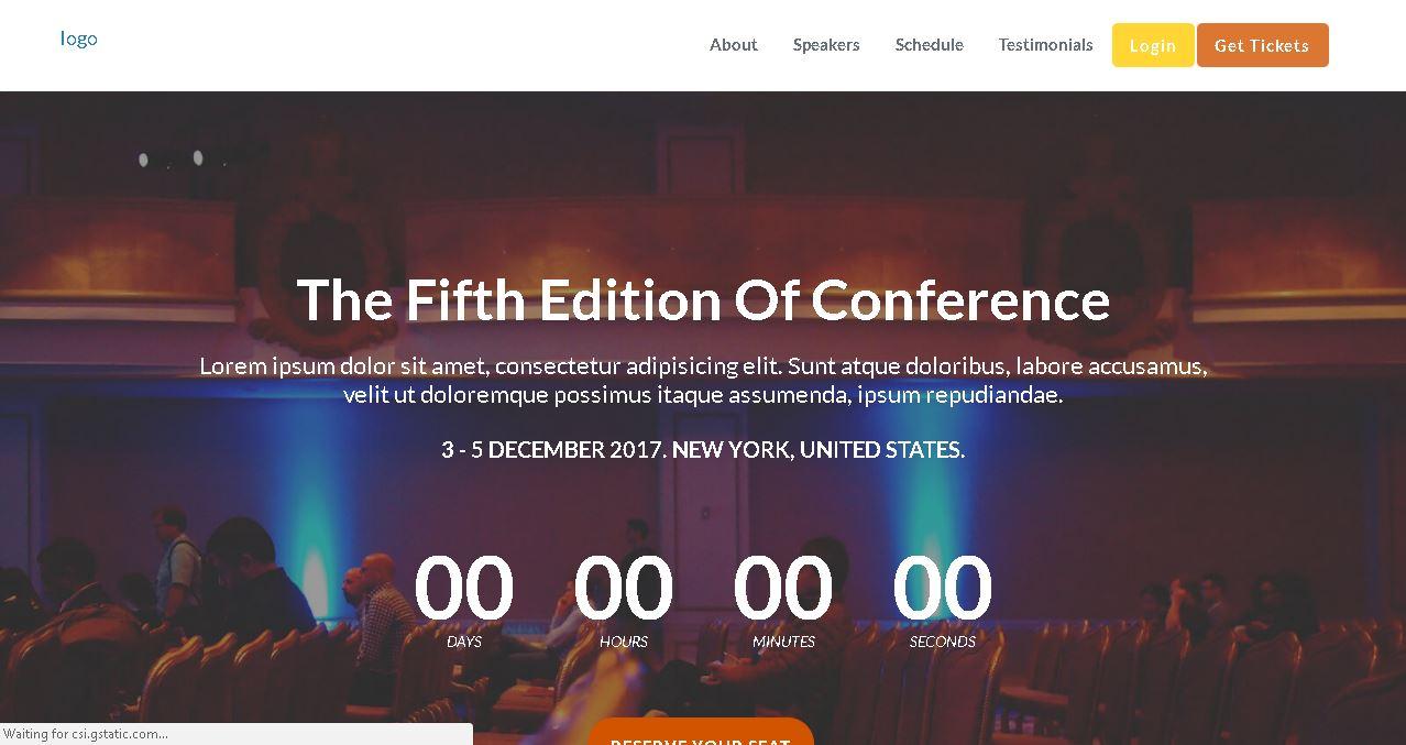 Events Planner Website