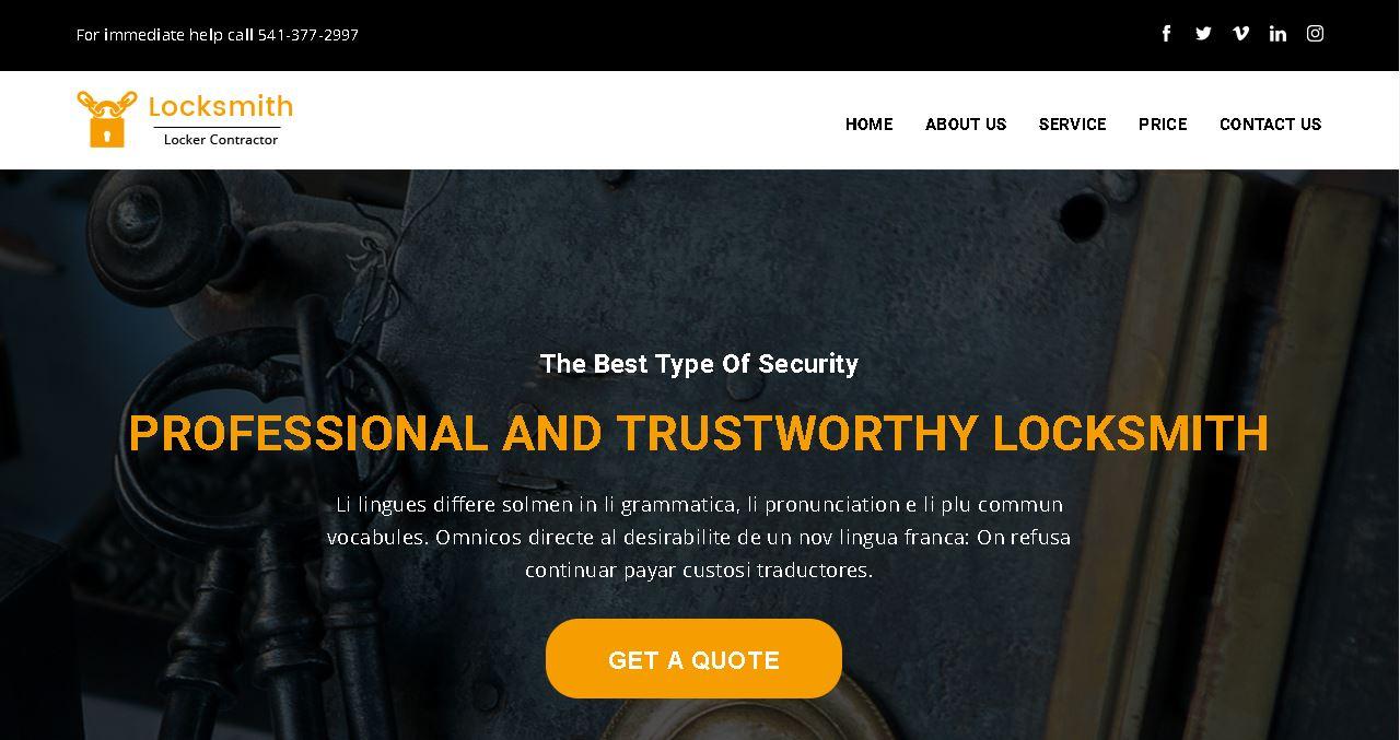 Locksmith Deluxe Website
