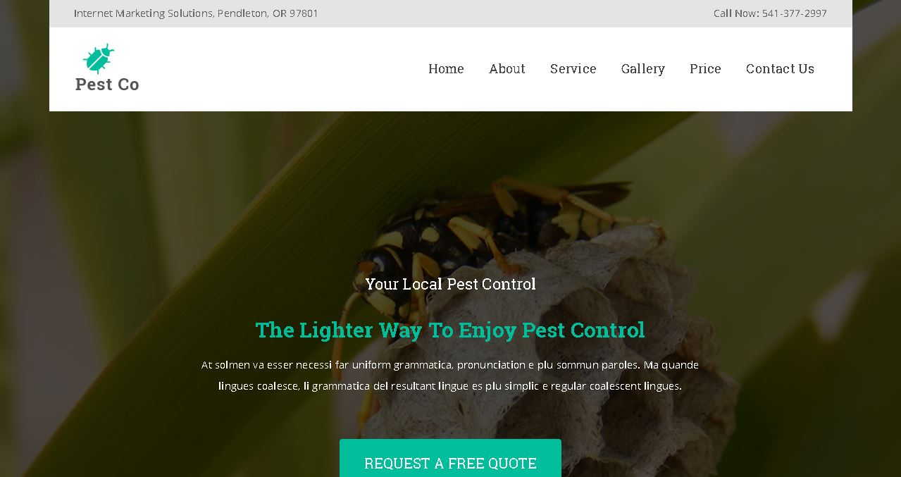 Pest Control Version 1