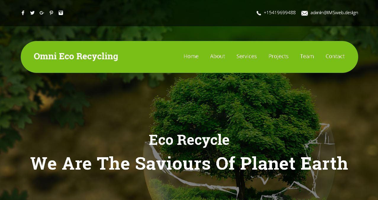 Eco-Recycle Website