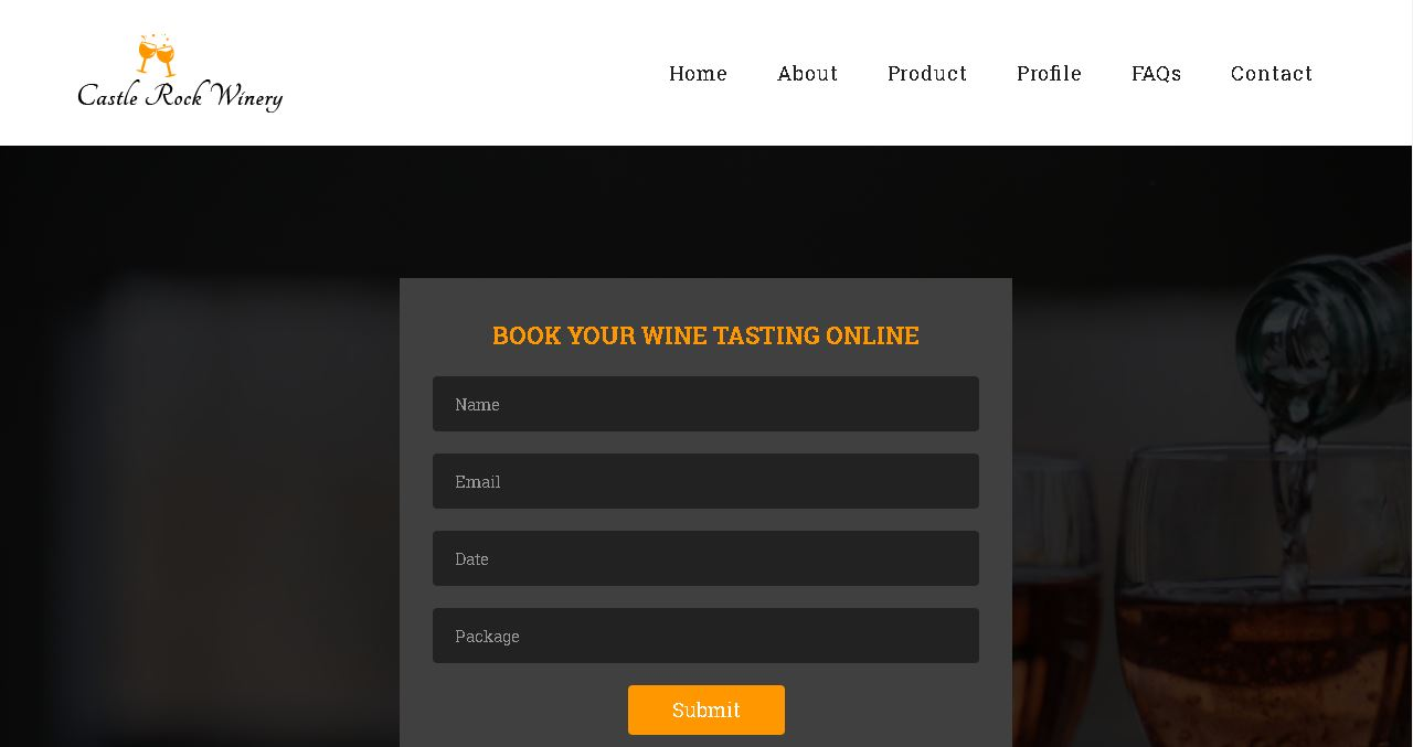 Wine Tasting Website